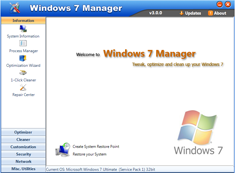Free Download Windows 7 Manager 4.2.2 with Keygen Full Version
