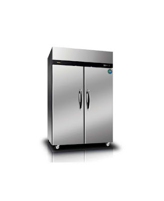 Two Doors Two Sections - Upright Pasta Refrigerator
