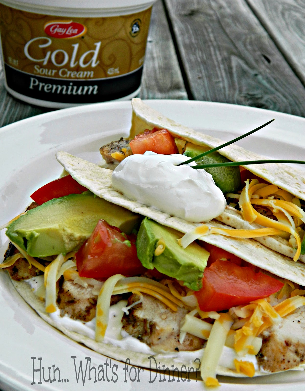 Hun... What's for Dinner? | Grilled Chicken Fajitas #GayLea Foods