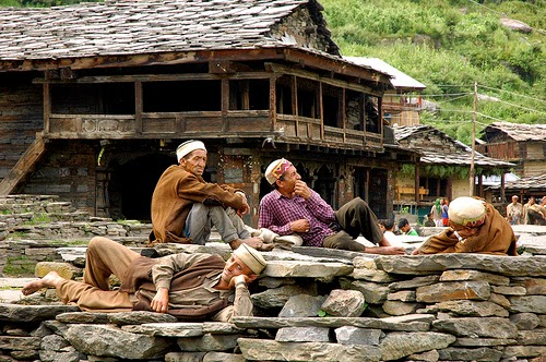 Malana- Kullu- Himachal Pradesh,