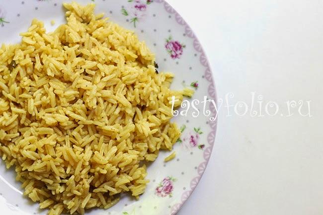 рецепт рис
