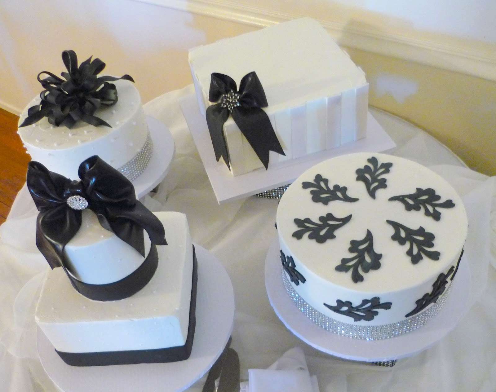Black And White Wedding Cakes Wedding Plan Ideas