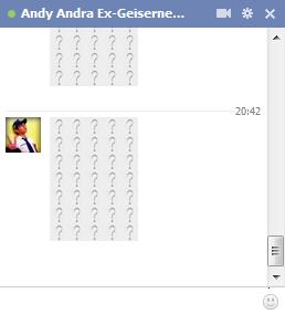 Cara membuat icon obrolan facebook yang unik
