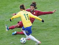brasil no pudo con venezuela