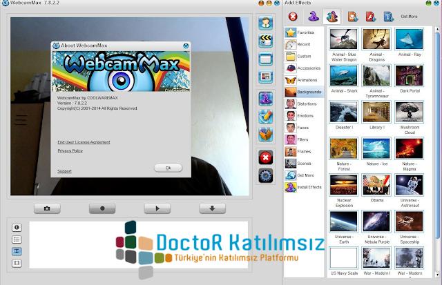 WebcamMax 7.8.2.2 [ x86 - x64 ] - Katılımsız