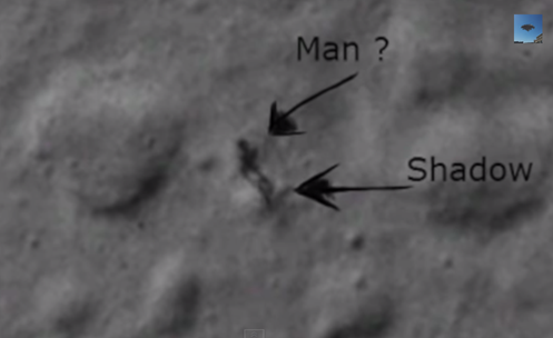 Odd figure on the Moon?