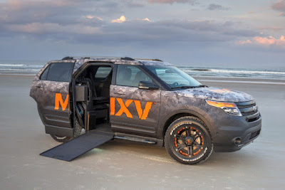 BraunAbility to Make Ford Explorer First Wheelchair-Accessible SUV