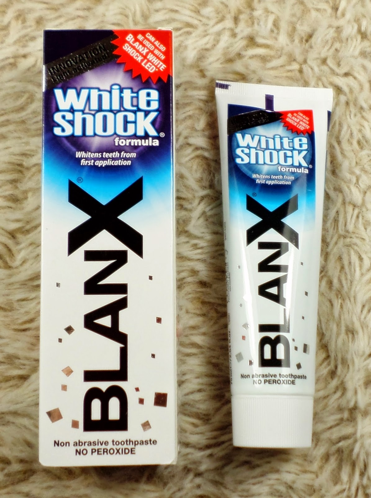 BlanX White Shock 75ml with Actilux (£4.99)