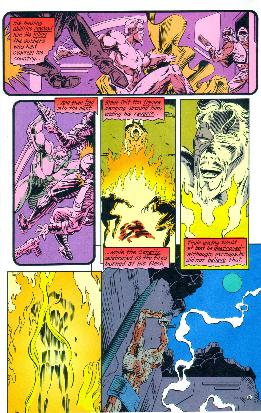 Deathstroke (1991) Annual 3 #3 - English 16