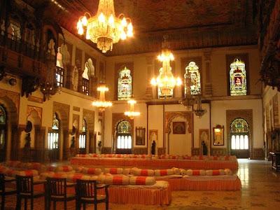 Darbarhall of Laxmi Vilas palace