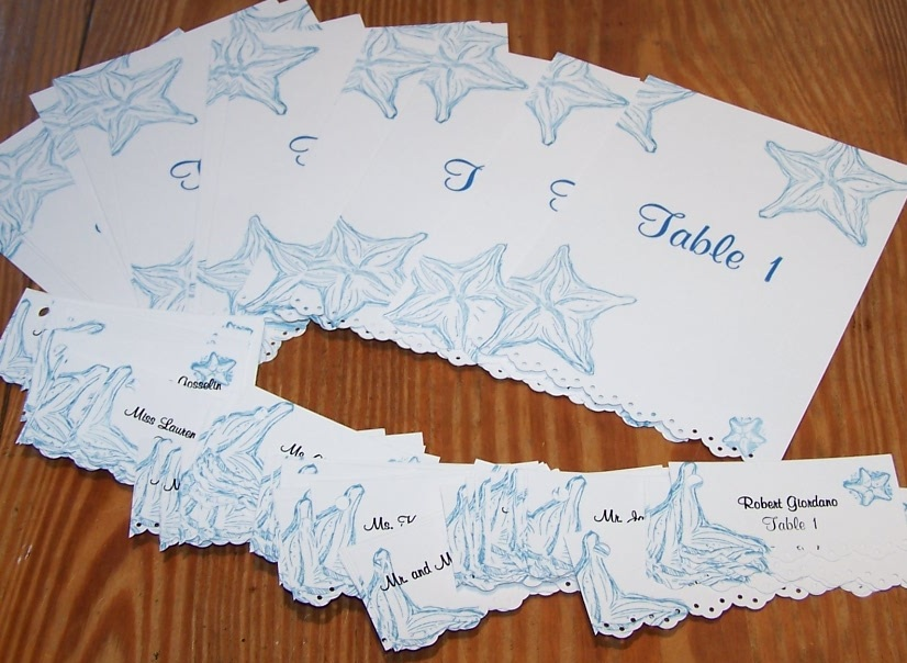 Cards \'n More by Marilyn: A Beach Themed Wedding