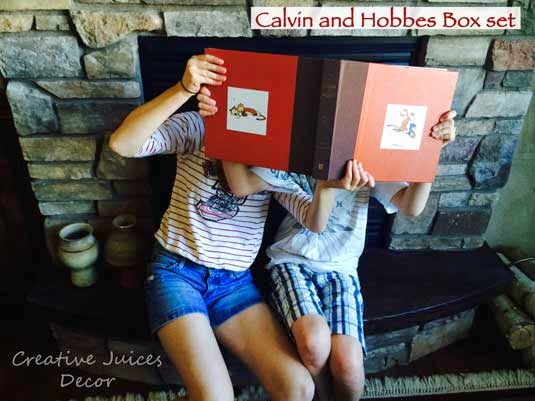 calvin and hobbes christmas gift idea blog post