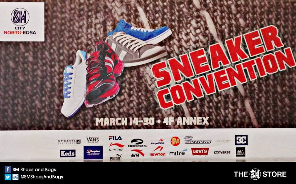 Sneaker Convention at City North Edsa on March 14 to 30
