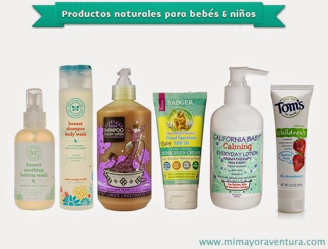 Guía de productos naturales para bebés y toddlers