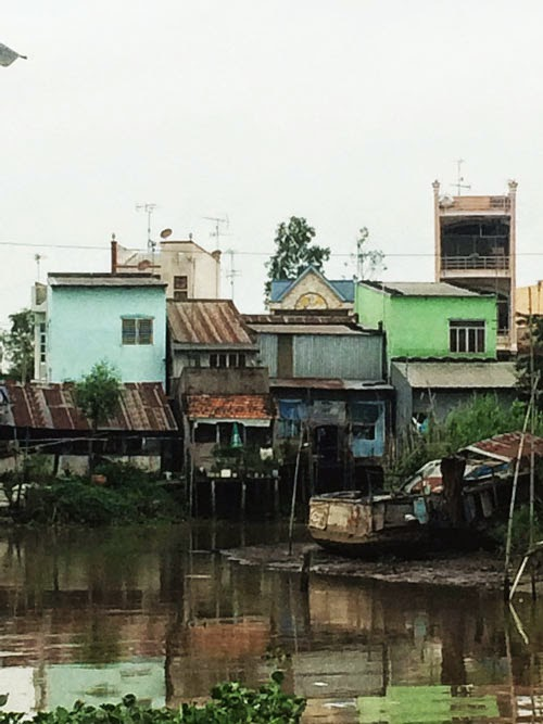 mekong delta houses in vietnam via small acorns blog
