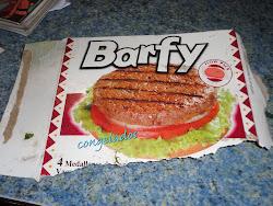 A Barfy Congealed (frozen) hamburger