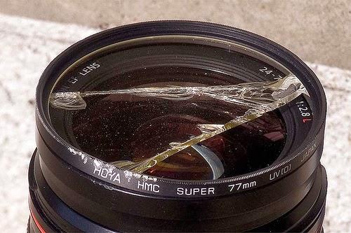 kırılmış uv filtre