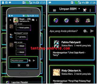 Download BBM MR neon Versi: 2.9.0.45 Apk