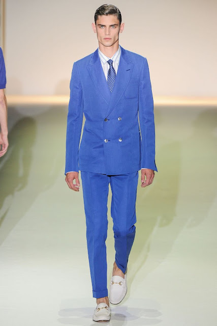 Male model Arthur Gosse S/S 2013 Gucci
