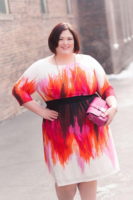 Ideas y vestidos para gorditas en primavera