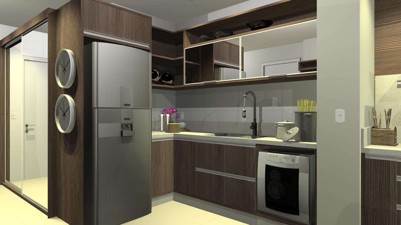 designER Tiago Gelatti: Projeto Cozinha e Varanda com churrasqueira  #938E38 1600 900