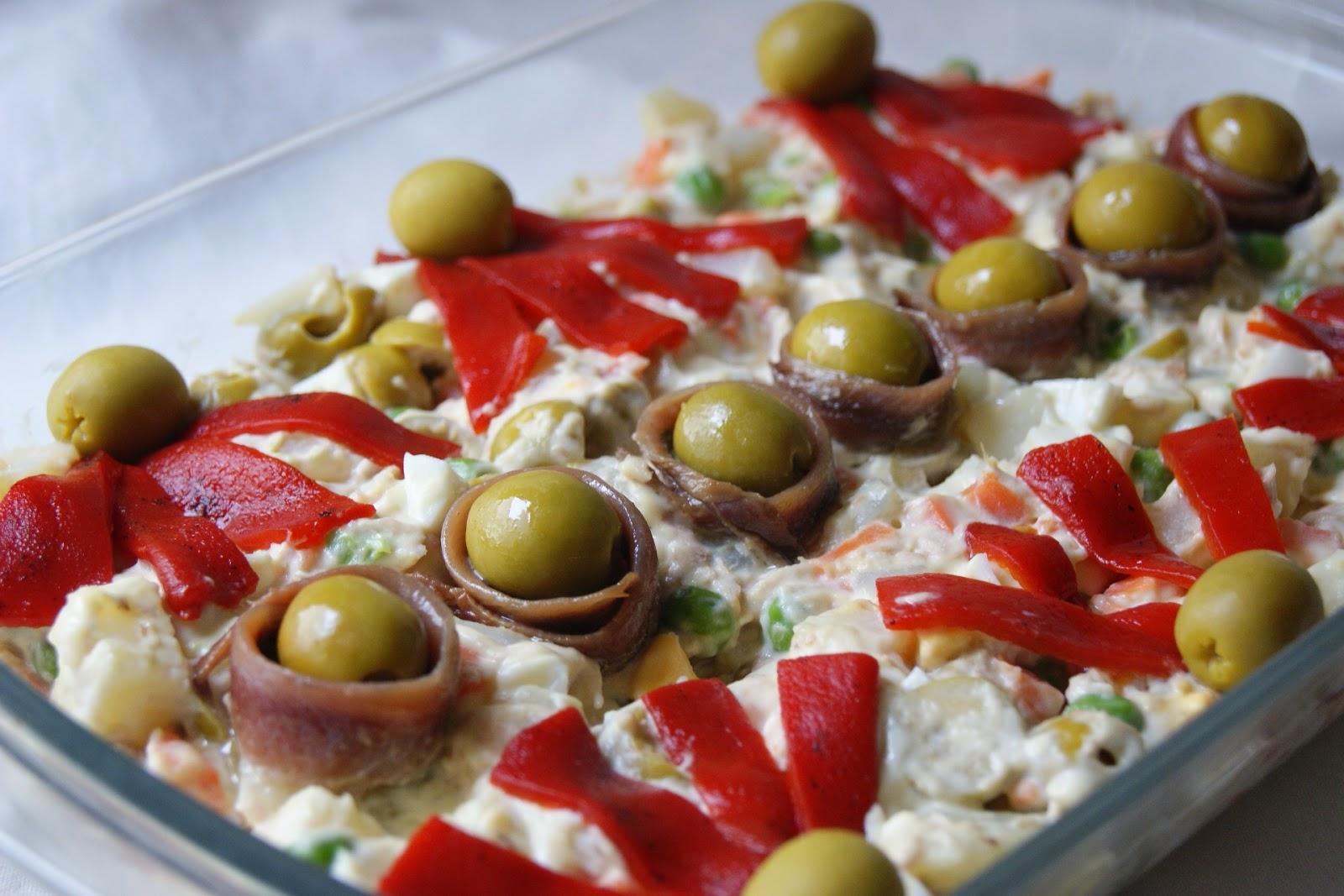 Anna recetas f ciles ensaladilla rusa for Platos faciles para cocinar