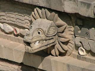 Representación de Quetzalcoatl, Teotihuacan