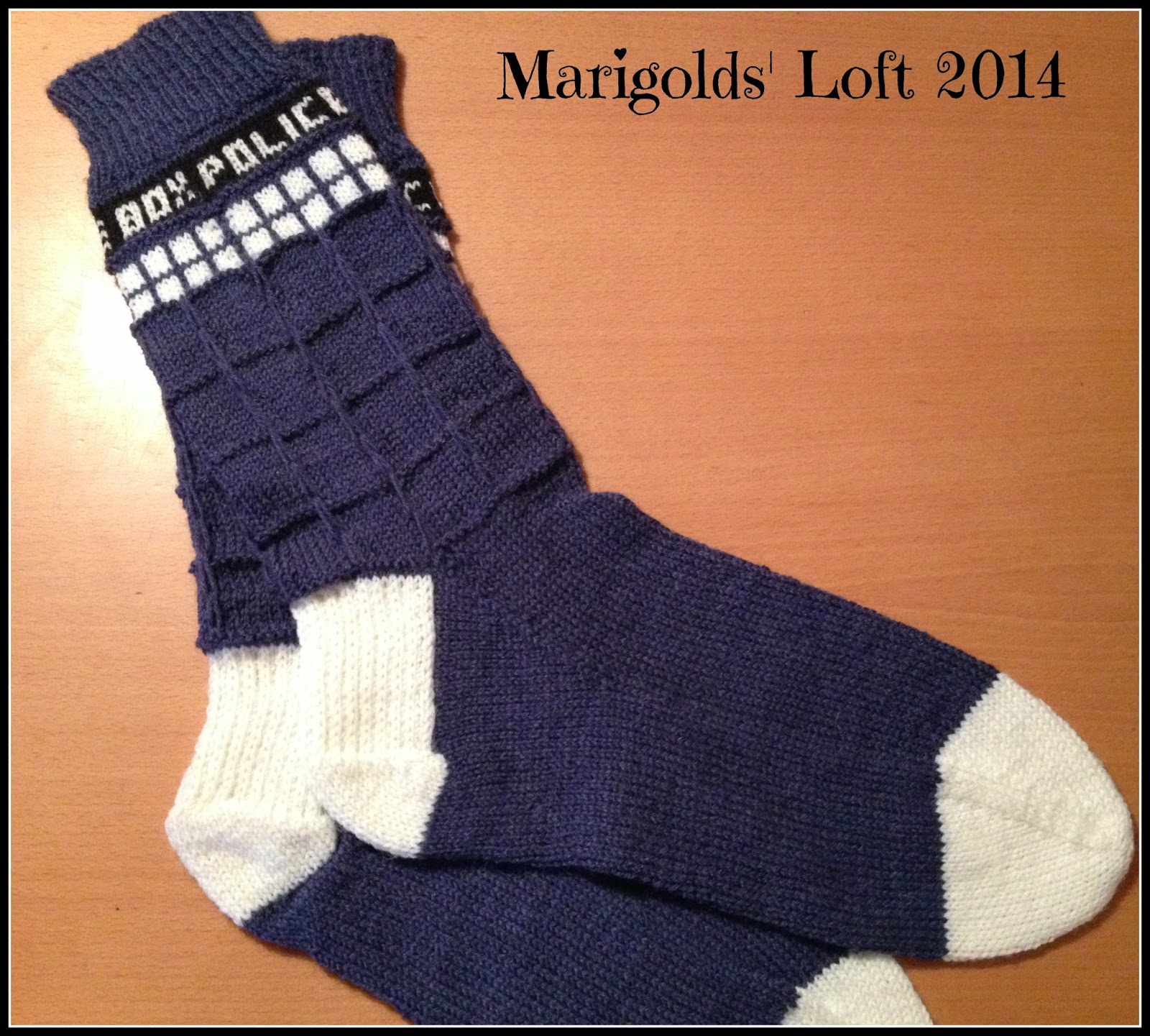 tardis socks for men