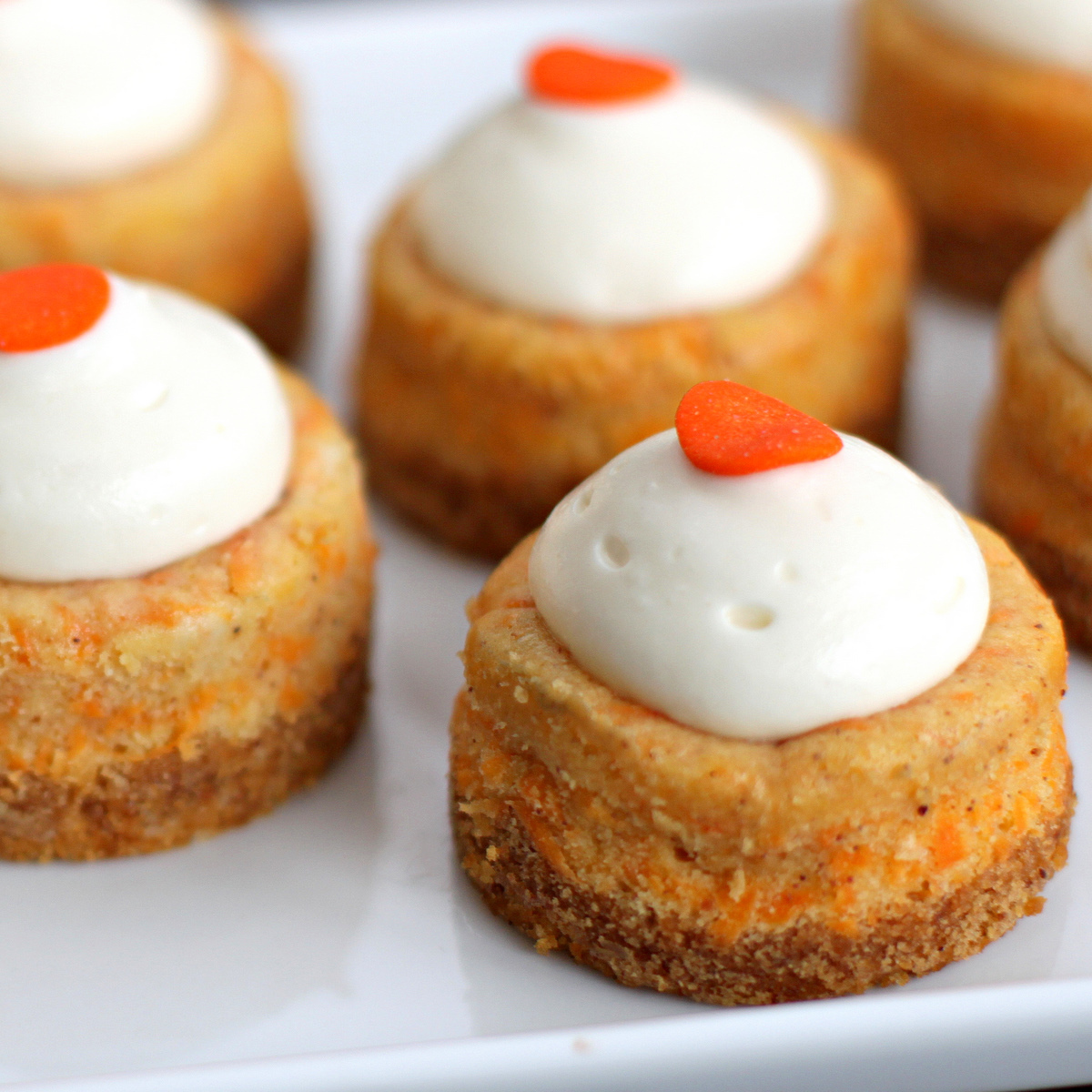Sugar Cooking: Mini Carrot Cake Cheesecakes