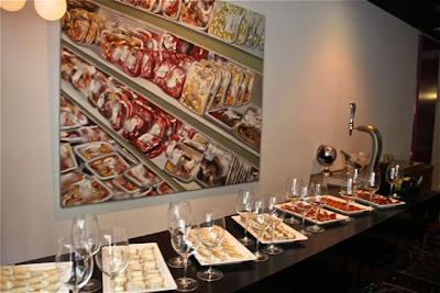 Aperitivos Evento Cocinando Madrid-Testing Madrid. Blog Esteban Capdevila