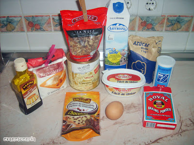 ingredientes necesarios para muffins