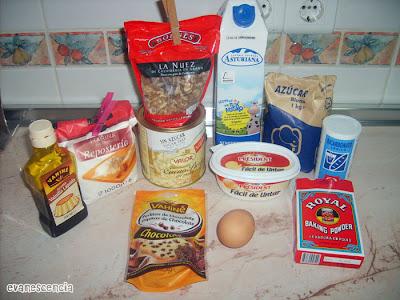 ingredientes necesarios para muffins
