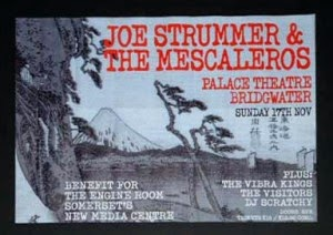 Joe Strummer and The Mescaleros - Bridgwater Palace 2002