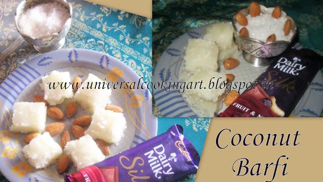 Coconut Barfi