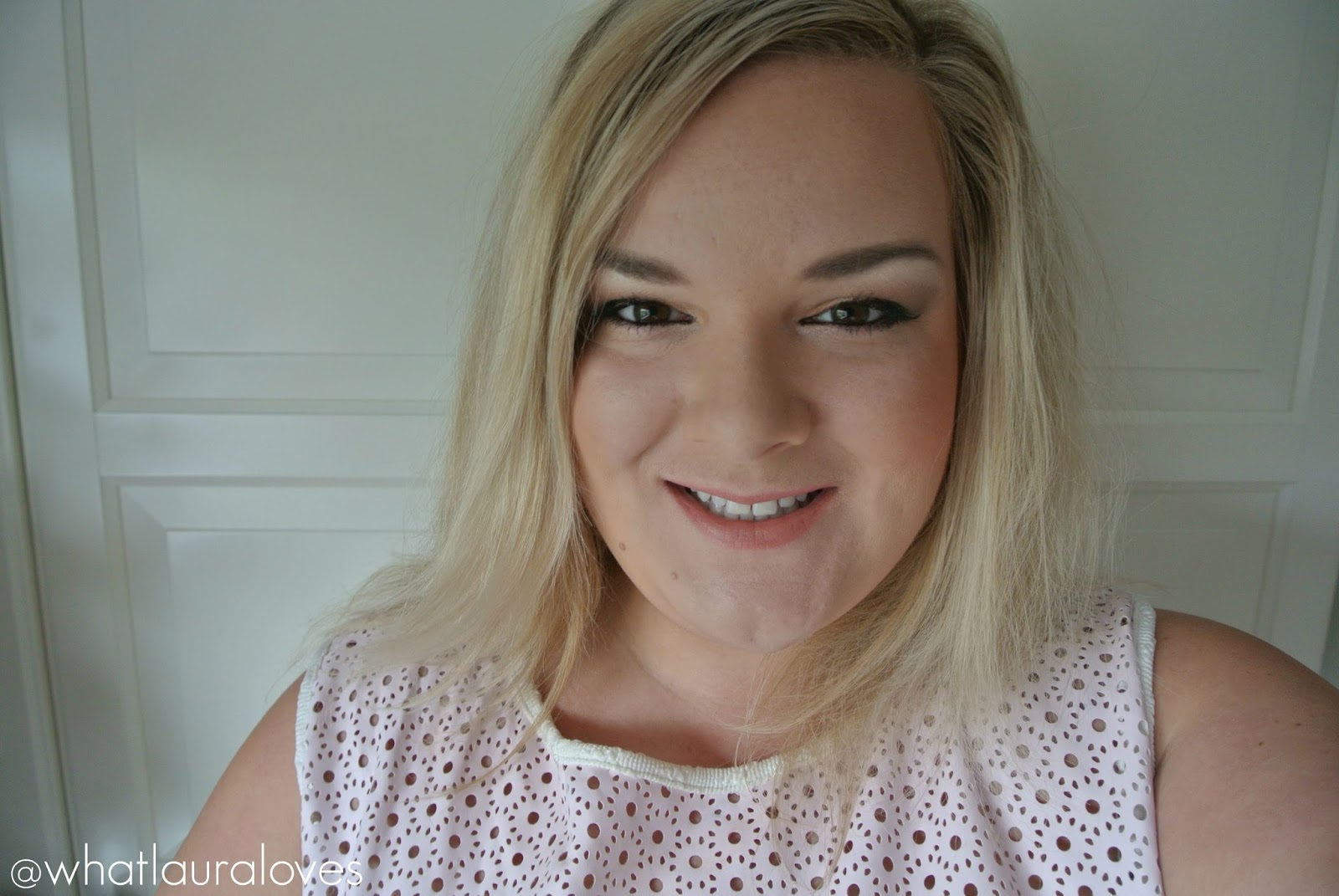 Wearing the Charlotte Tilbury x Norman Parkinson Matte Revolution Lipstick in Miss Kensington Review Swatches