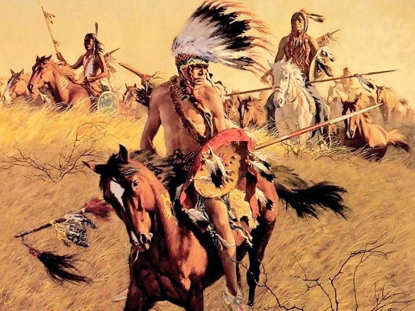 Come i pellerossa ebbero i cavalli. Leggenda dei nativi americani. 01