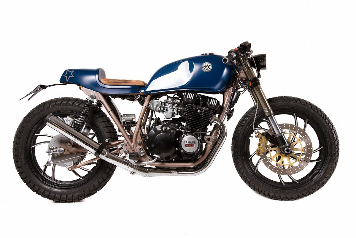 "Yamaha XJ550 Cafe Racer | Matteucci Garage Yamaha XJ550 Cafe Racer | ""Ocean Wave"" by Matteucci Garage, got an interesting mail from my good friend Marco Matteucci On his new Custom Yamaha Cafe Racer Project,"