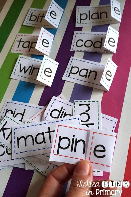 Silent E Rule Flip Strips