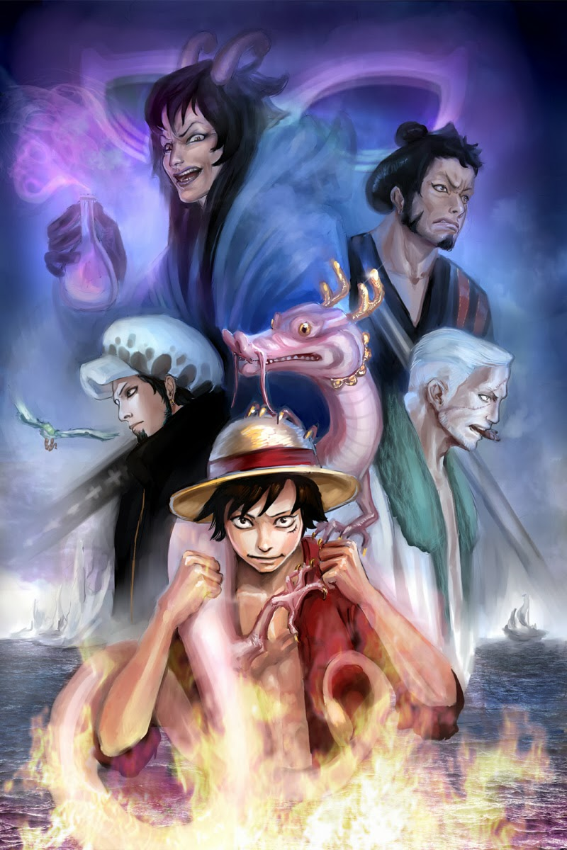 One Piece Chapter 730: Ba lá bài 020