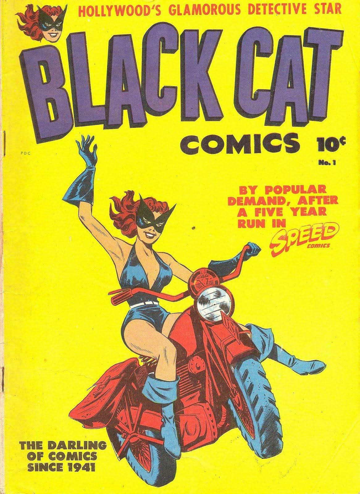 BLACK CAT COMICS