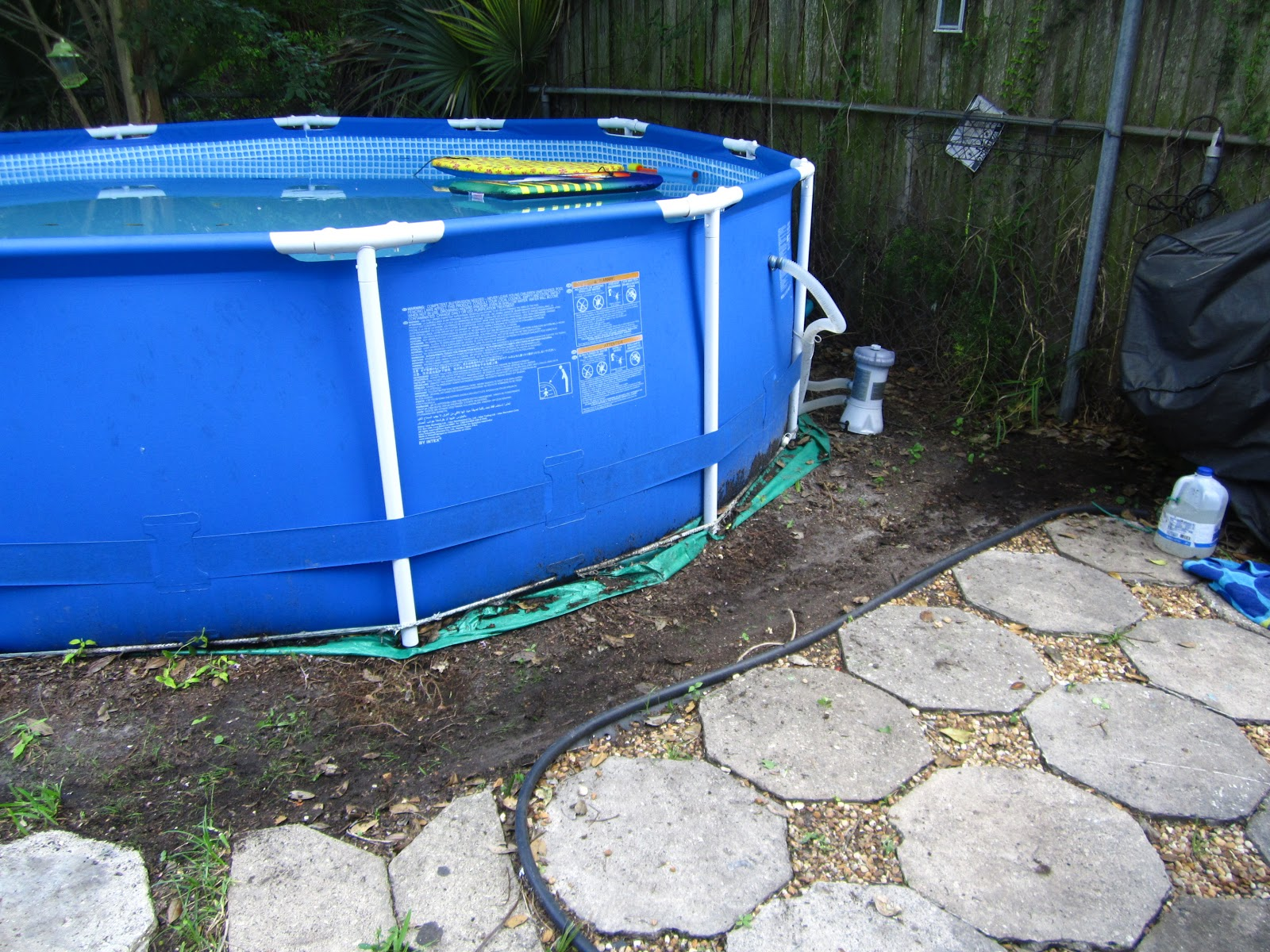 Above Ground Pool Removal Landscaping : Build a garden get landscaping ideas after above ground pool removal