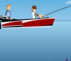 صيد سمك بن تن