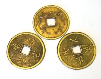 Monedas del I Ching