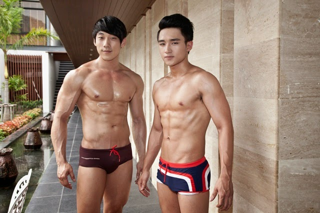 Swimming pool - Mister Global 2014
