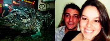 Casal que escapou de tragédia em Santa Maria morre em acidente de carro
