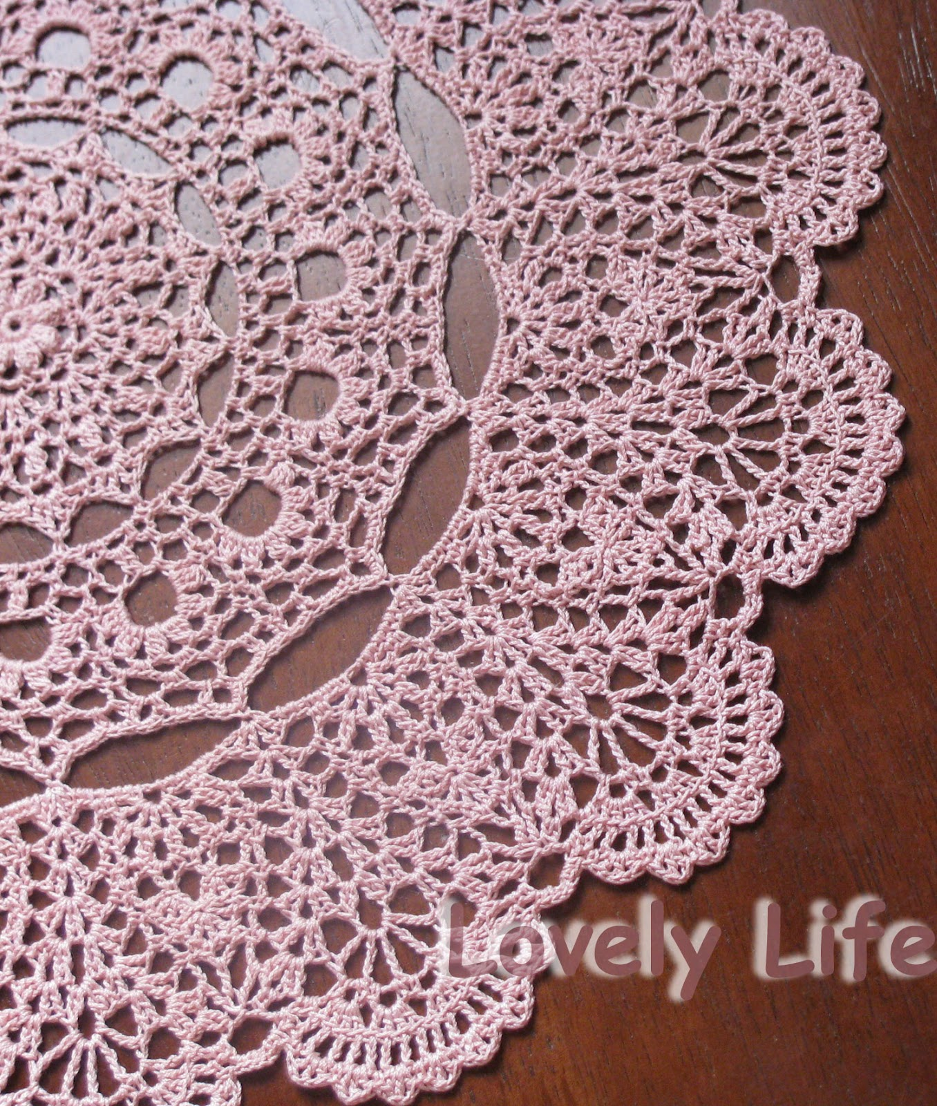 Lovely Life...: Mantilla Doily