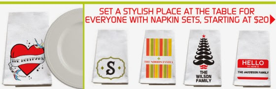 Shop Personalized Napkin Sets