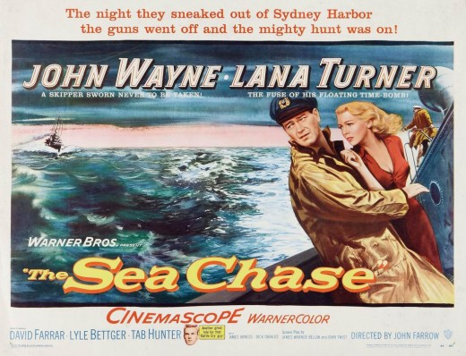 """The Sea Chase"" (1955)"