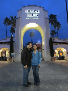 California Universal Studios Hollywood Entrance Arc