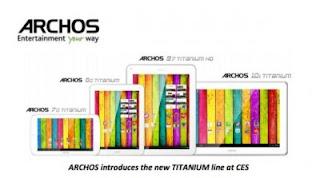 Archos Luncurkan Tablet Archos 80 Platinum, 97 Platinum dan 116 Platinum